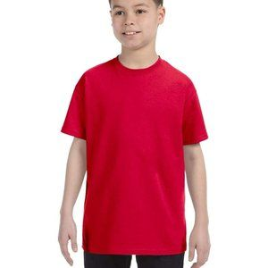 Basic Red Heavy Cotton T-Shirt